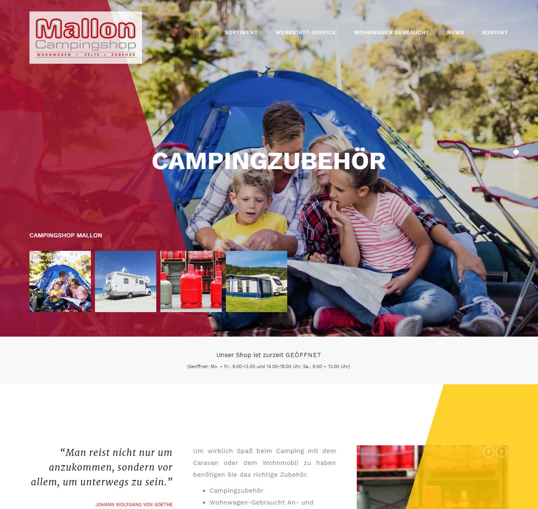 Campingshop Mallon